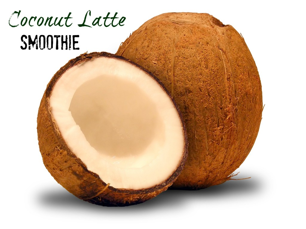 Coconut Latte Smoothie | Make #OneChange with #VegaOne | Mommy Runs It