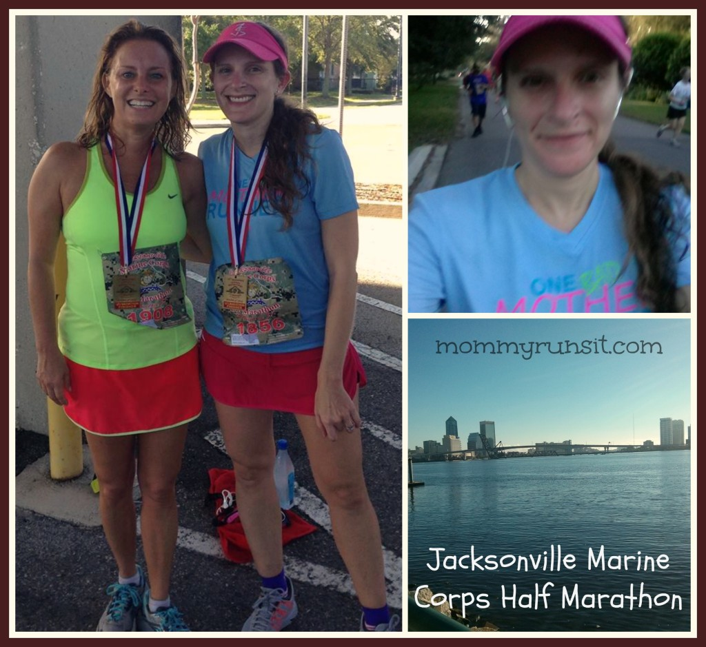 Jacksonville Marine Corps Half Marathon | Mommy Runs It