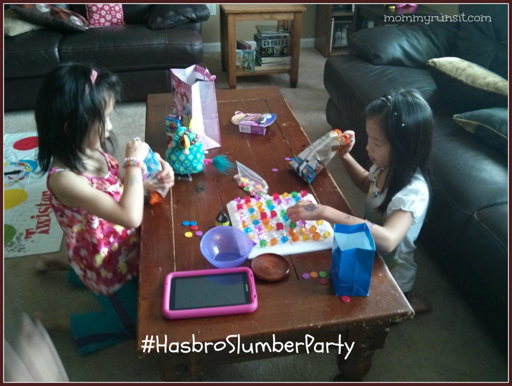 BEJEWELED & TWISTER Game Night Party | #HasbroSlumberParty | Mommy Runs It