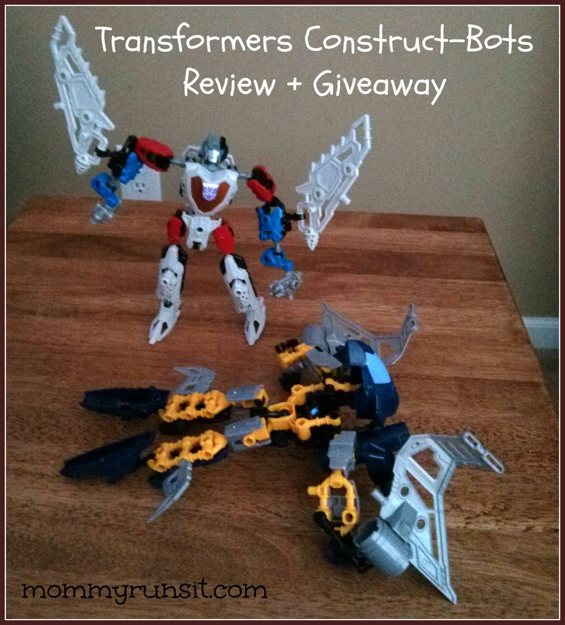 Transformers Construct-Bots | Mommy Runs It