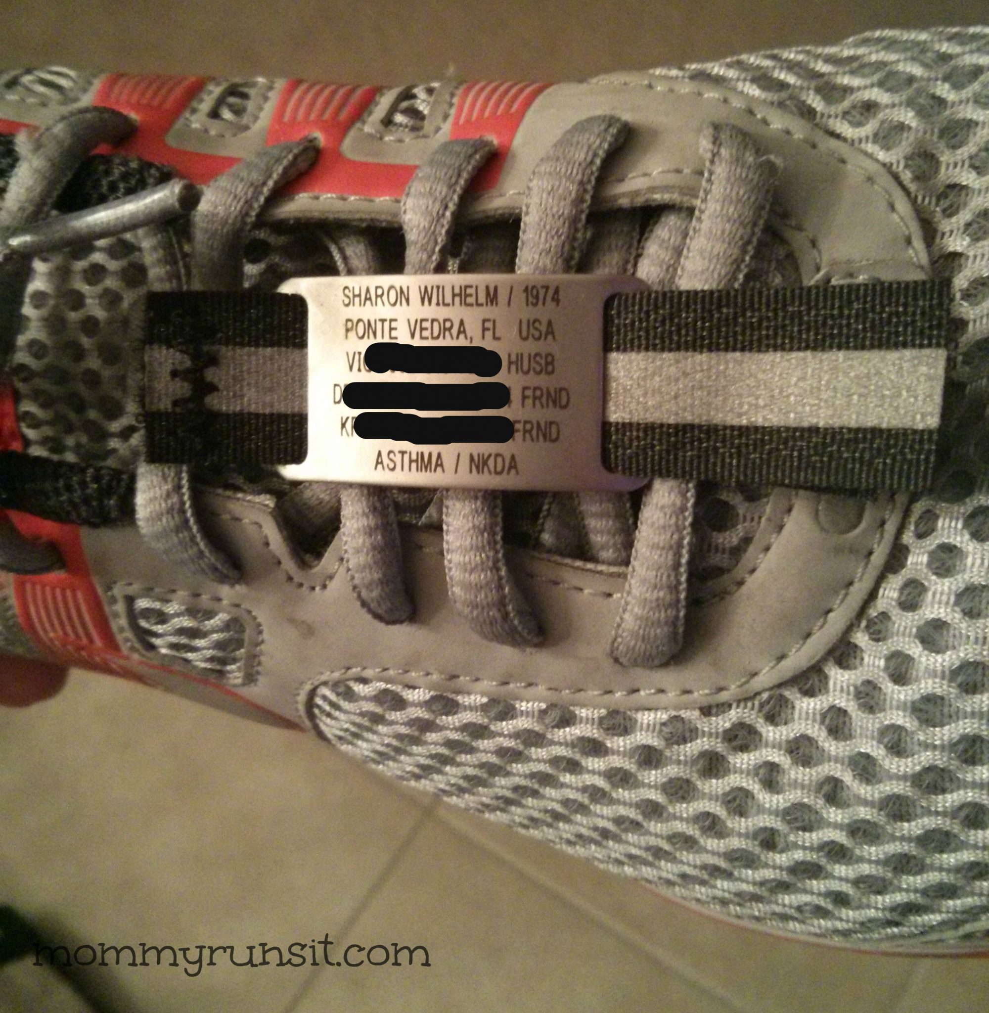 Road ID Shoe Tag: A Must-Have for the Whole Family | Mommy Runs It