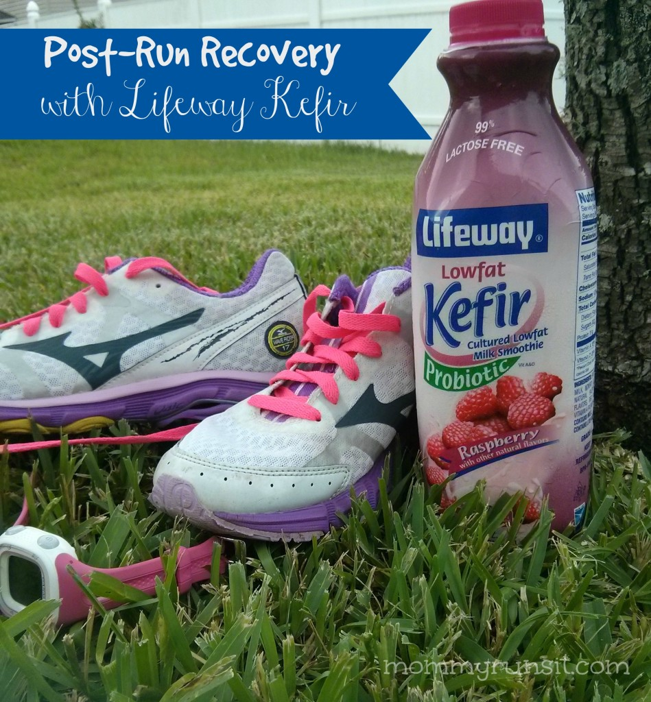 Post-Run Recovery with Lifeway Kefir | Mommy Runs It