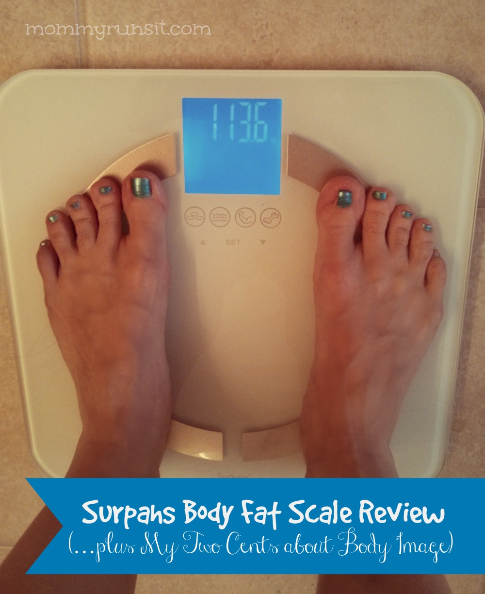 Surpahs Body Fat Scale Review (…plus My Two Cents about Body Image) | Mommy Runs It