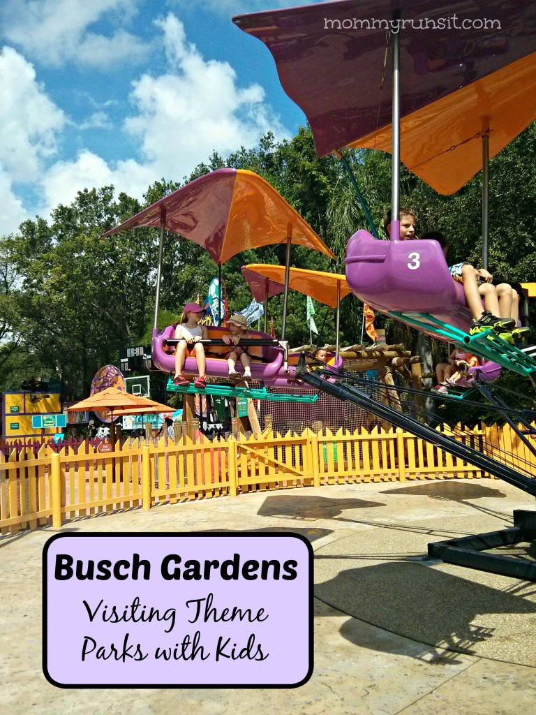 Visiting Theme Parks with Kids | Busch Gardens Tampa | Mommy Runs It #travel