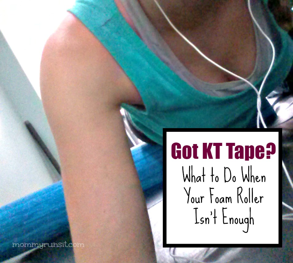 KT Tape for IT Band + Knee (Kinesiology Tape) | Mommy Runs It