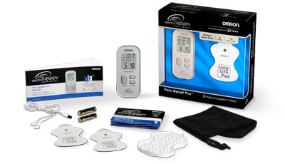Omron Electrotherapy TENS Unit Review | Mommy Runs It