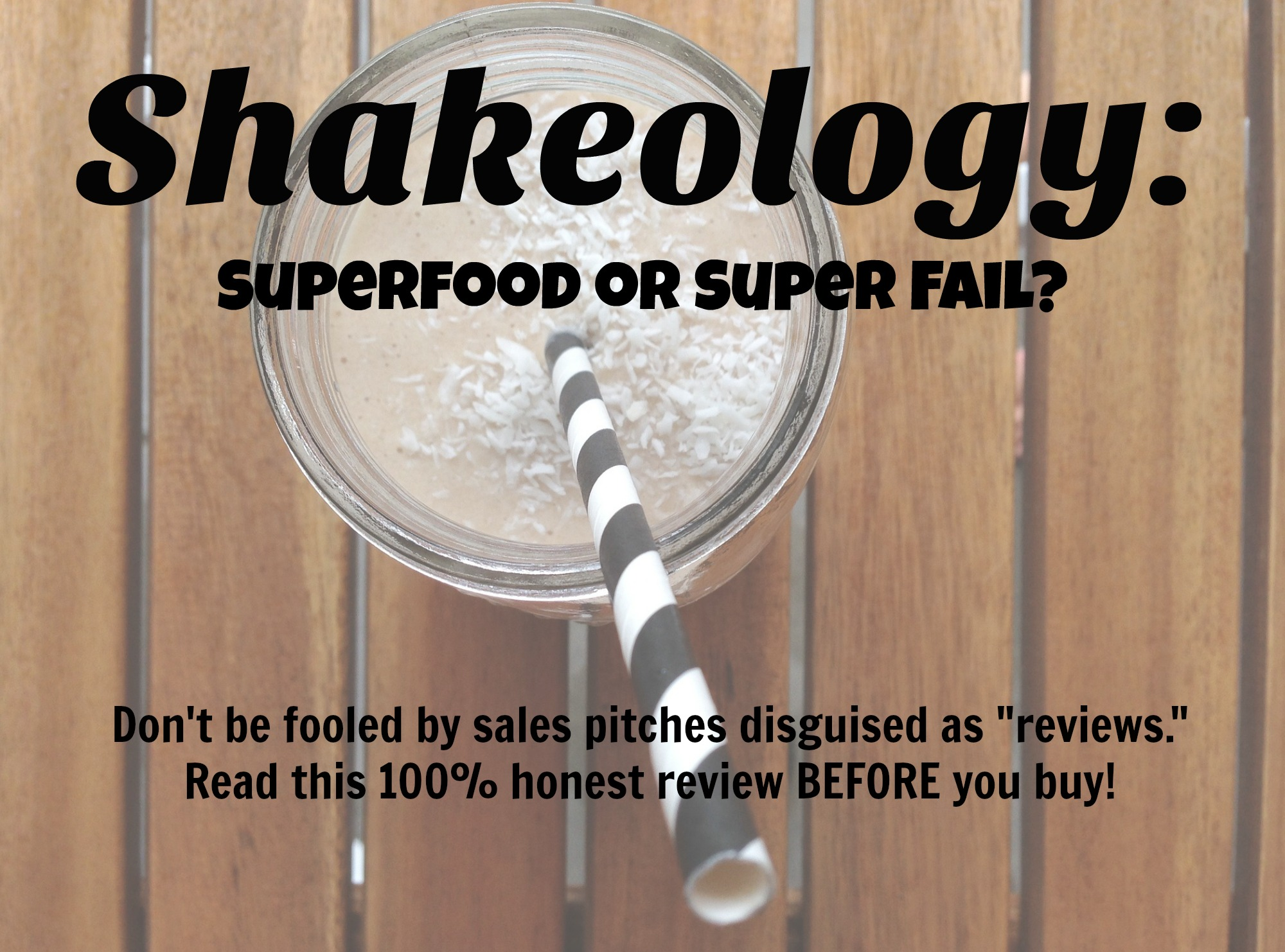 Shakeology Reviews | Shakeology = Superfoods? | Mommy Runs It