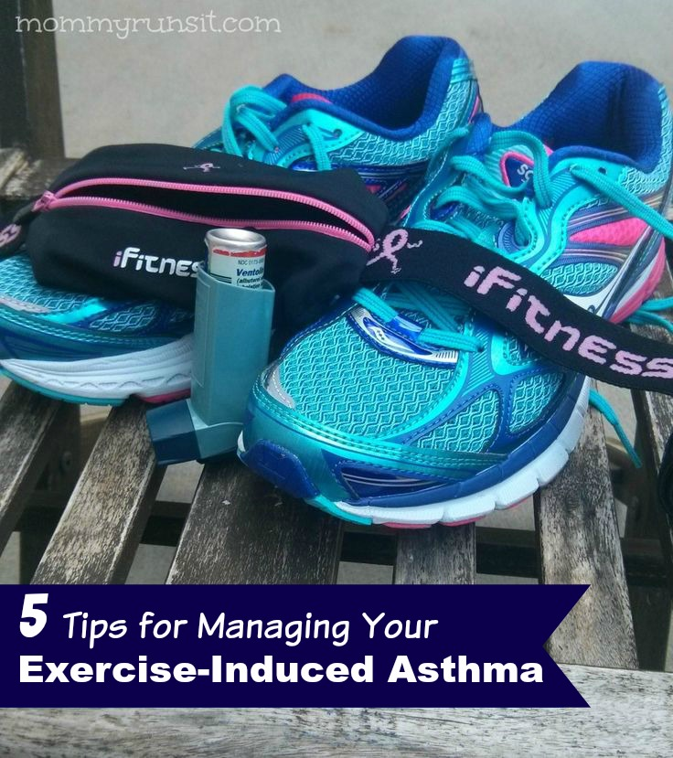 5 Tips for Managing Your Excercise-Induced Asthma | Mommy Runs It #sponsored
