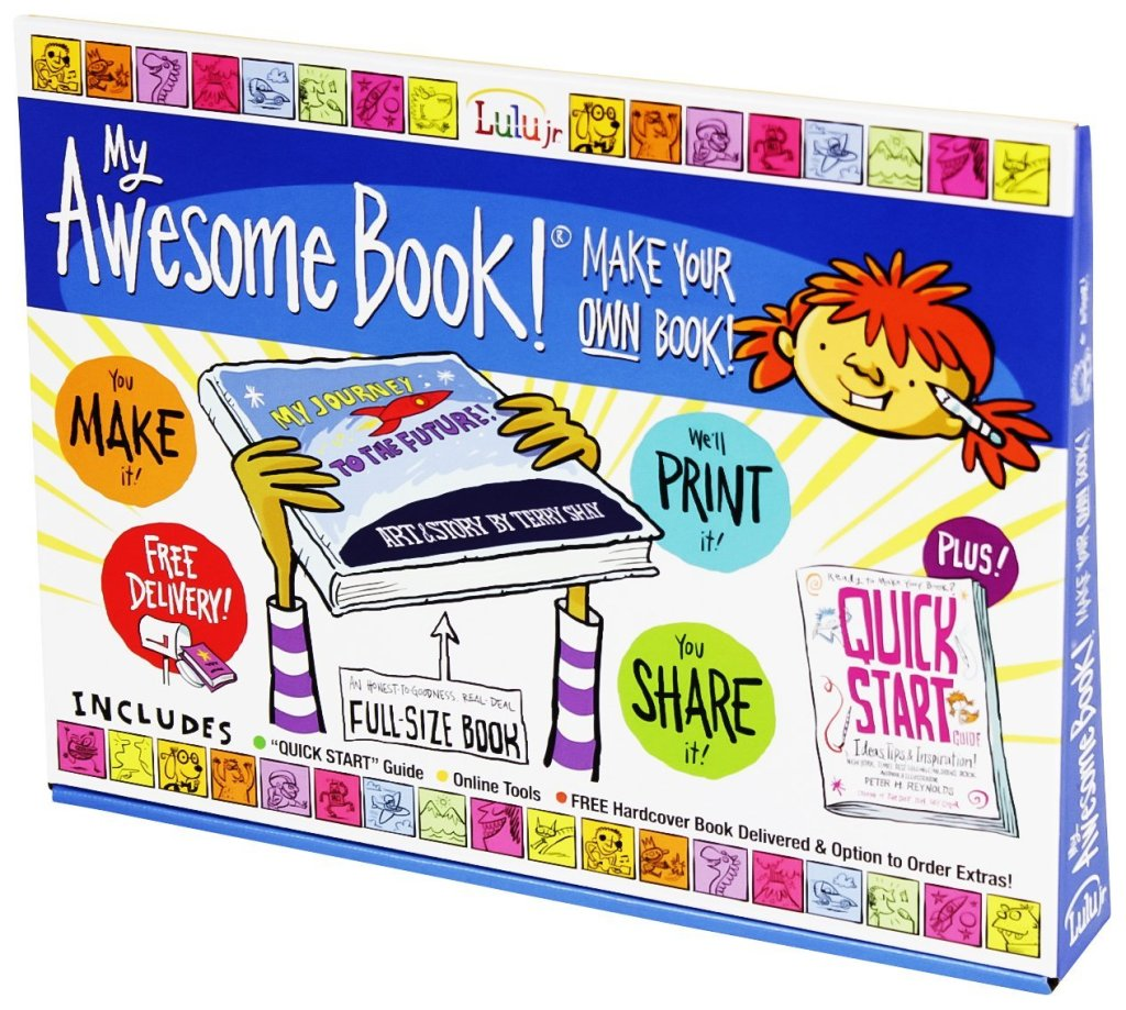 My Awesome Book | Mommy Runs It #2014HGG