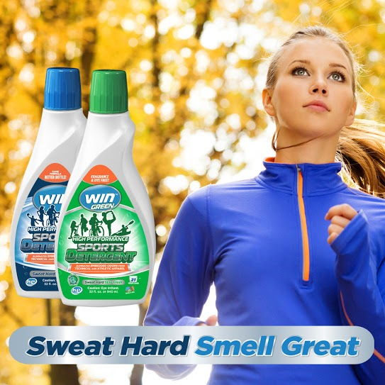 WIN Detergent | Mommy Runs It #SweatHardSmellGreat #WINDetergent #sweatpink
