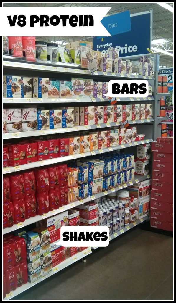 Protein On-The-Go - Campbell's New V8 Protein Shakes and Bars | Mommy Runs It