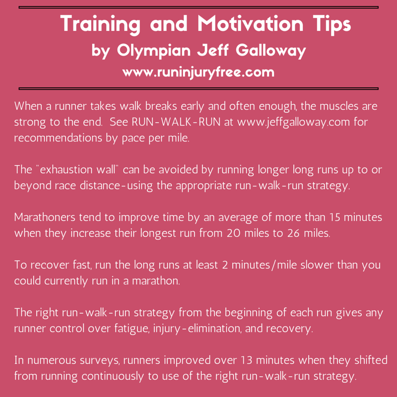 Jeff Galloway Marathon Training Tips | Mommy Runs It #running
