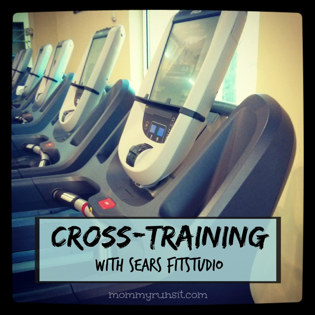 Cross-Training with Sears FitStudio - Mommy Runs It