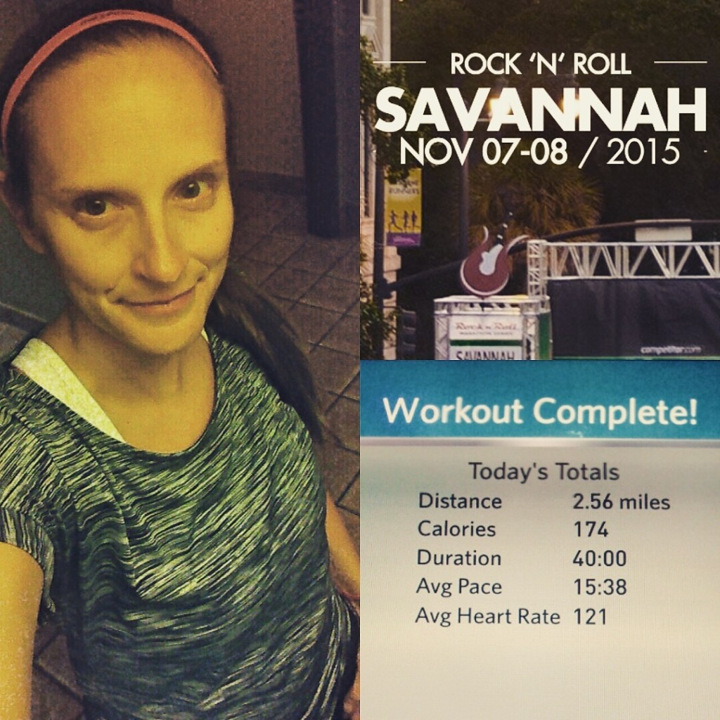On Running and Not Running | Mommy Runs It | maffetone method | rock'n'roll savannah | half marathon | #RnRSAV