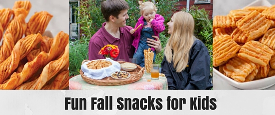 Fun Fall Snacks for Kids | guest post c/o @jwmcheesesticks | Mommy Runs It