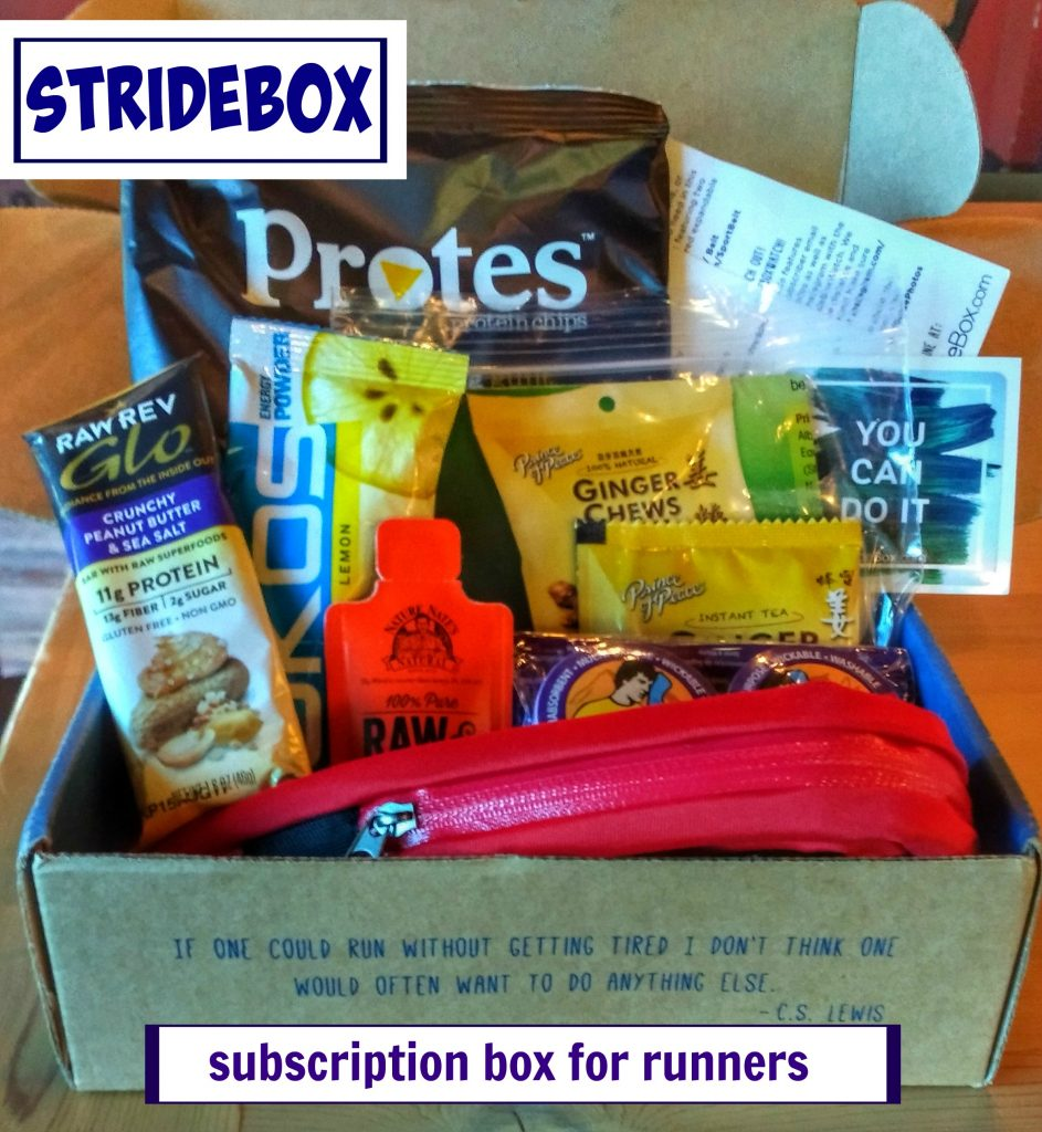 StrideBox Review + Giveaway | Mommy Runs It