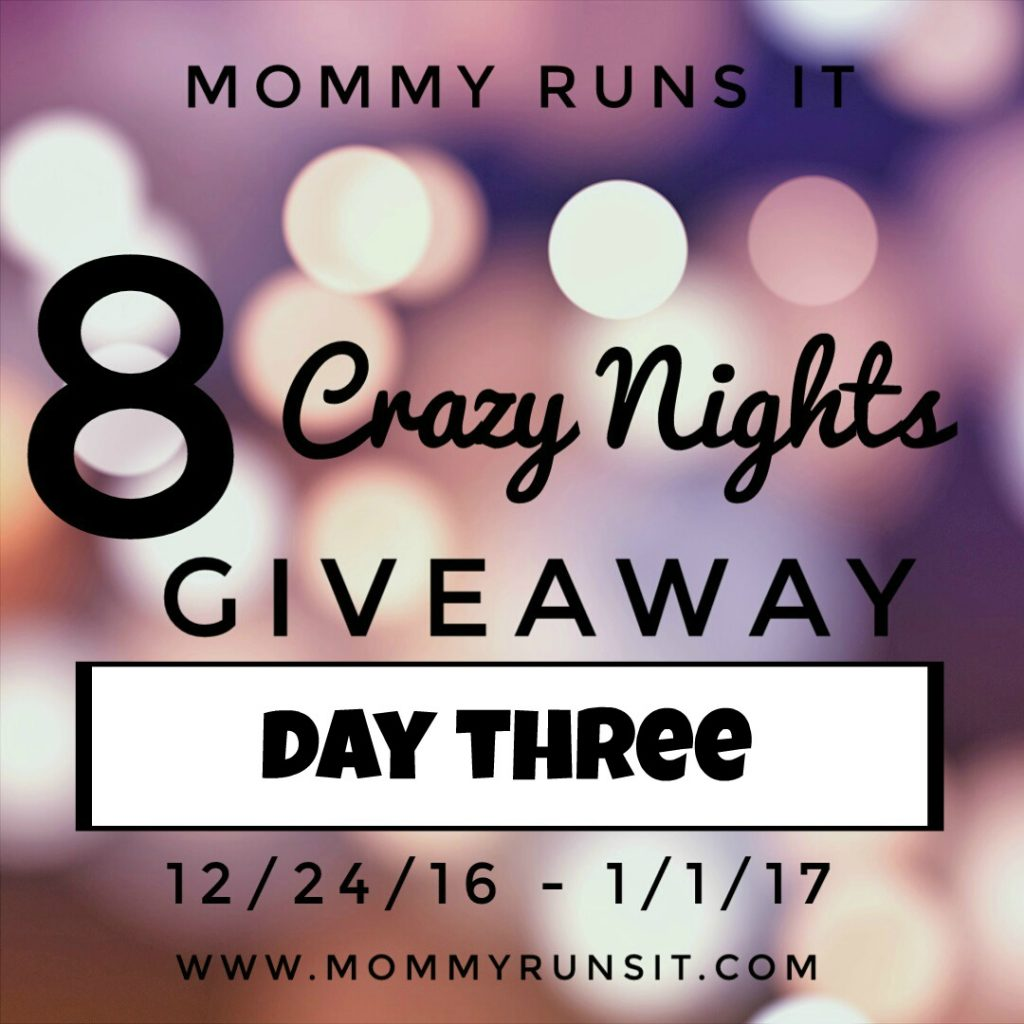 8 Crazy Nights of Giveaways: Day 3 | Mommy Runs It | #8crazynightsgiveaway
