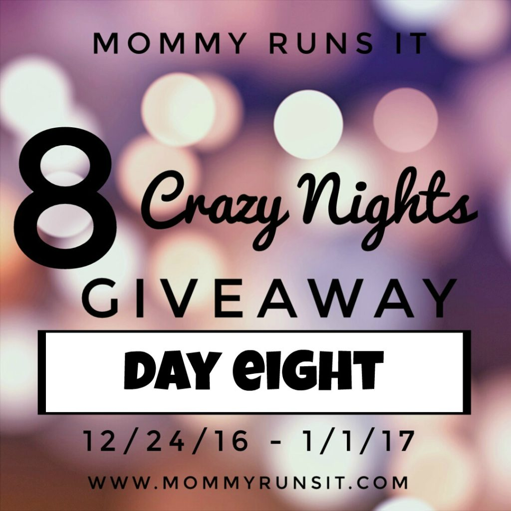 8 Crazy Nights of Giveaways: Day Eight | Mommy Runs It | #8crazynightsgiveaway