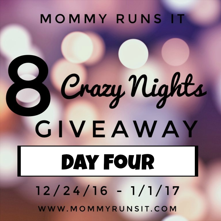 8 Crazy Nights of Giveaways: Day Four | Mommy Runs It | #8crazynightsgiveaway