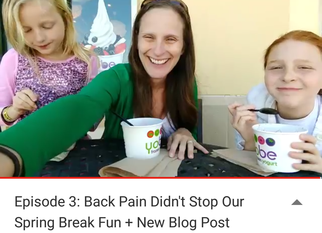 [Spinal] Fusion Forward: Last Week on the Vlog | Mommy Runs It
