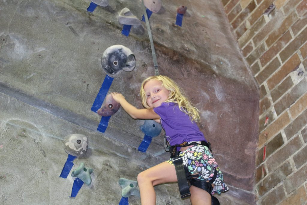 Kids Indoor Rock Climbing | Mommy Runs It